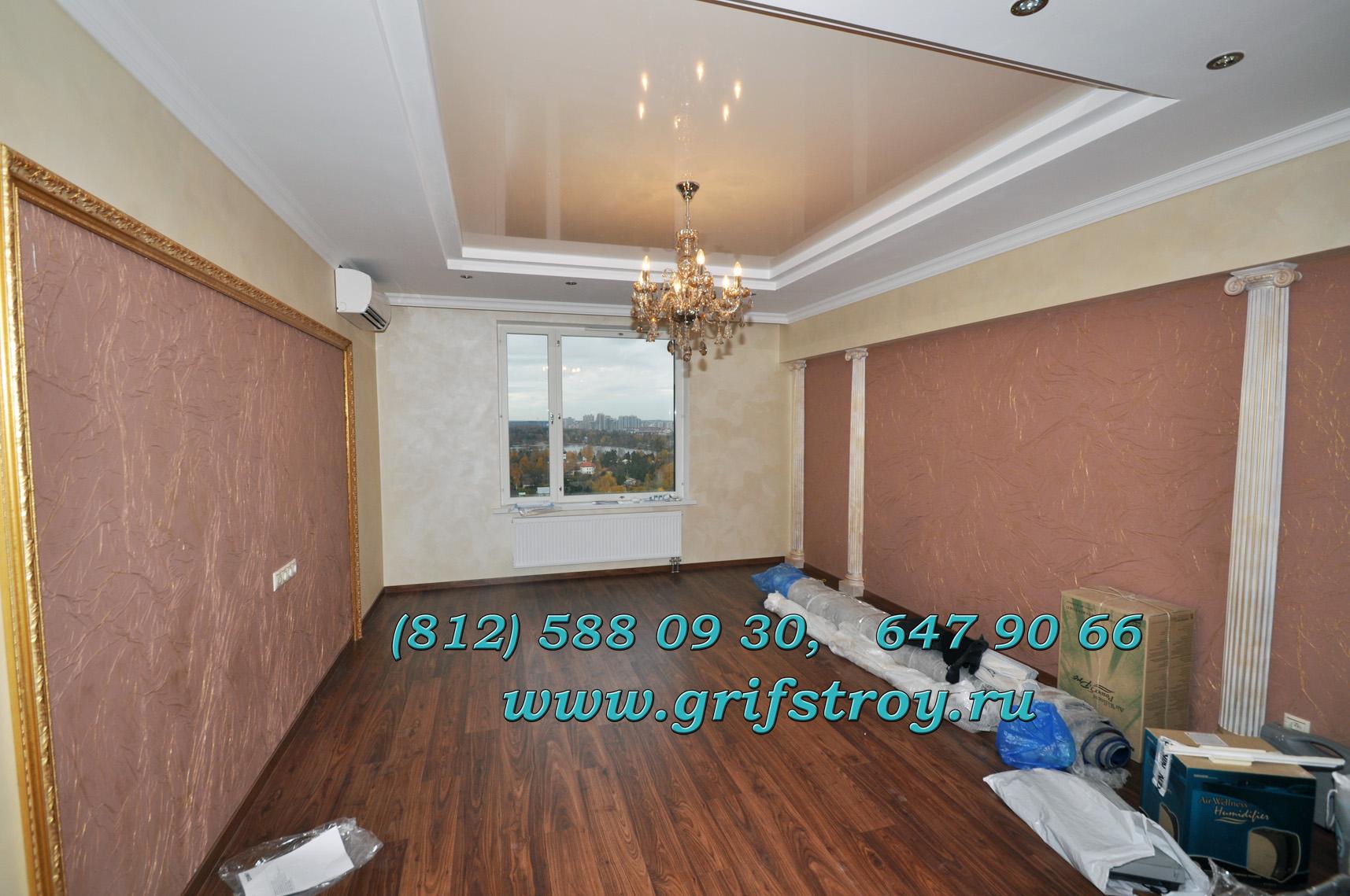 Отделка потолка в новой квартире 183