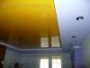 Натяжной потолок двухуровневый, многоцветный