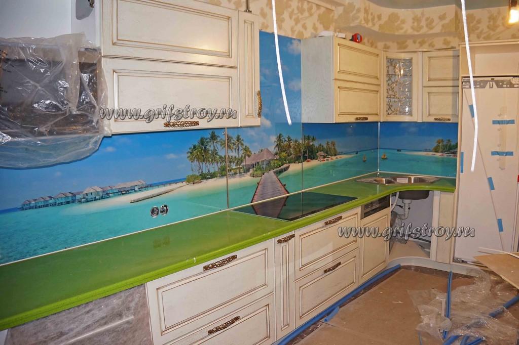 Панель для кухонного фартука в морском стиле